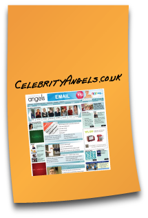 Website design - Celebrity Angels Series