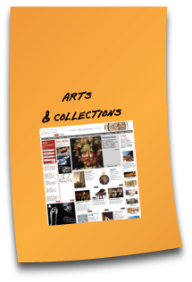 Website design - Arts and Collections International